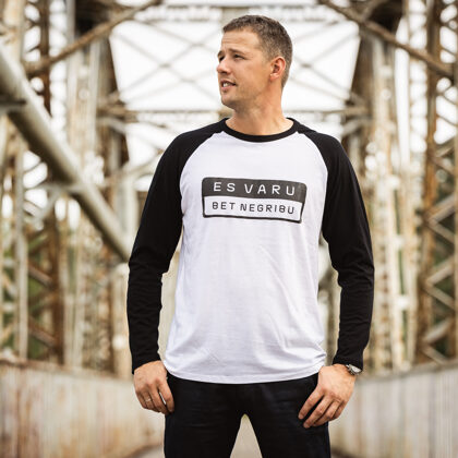 Beisbola krekls ''Es varu bet negribu''